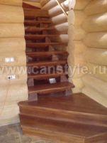 деревянная лестница производство