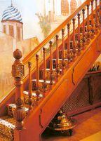 Премиум класс: деревянные лестницы цены среднего класса